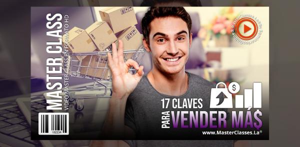17 Claves para vender más - Inscríbete hoy mismo - 50% de descuento